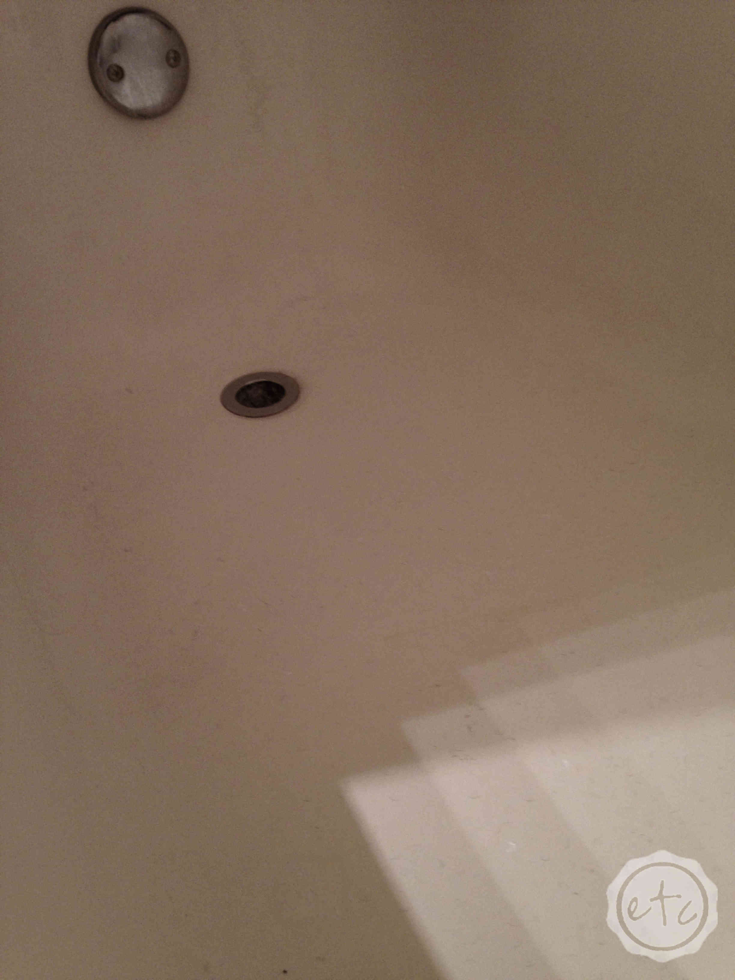 small bath happily to paint how etc ever chips fix and sink after tub bathtub